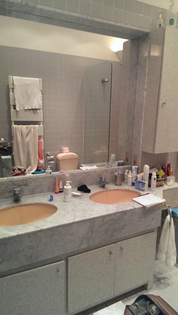 Salle de bain - Roquebrune Cap Martin